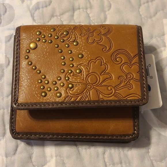 Fossil Genuine Leather Brown wallet